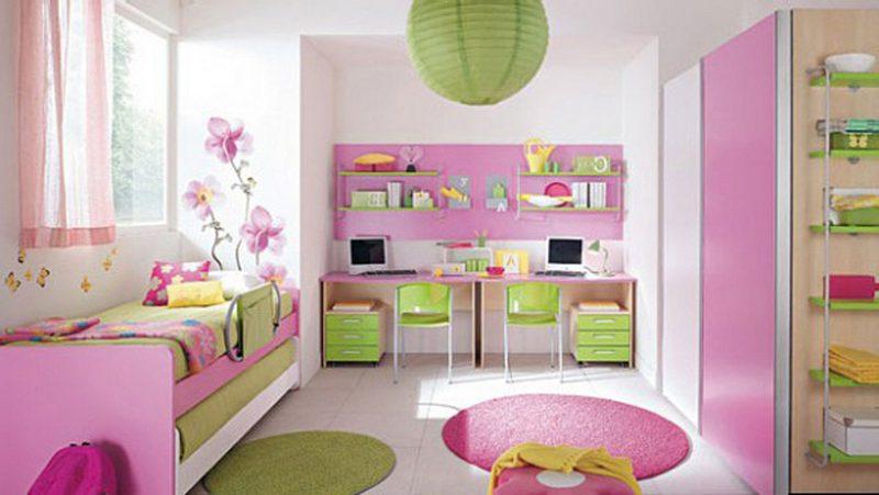 Дитяча спальня для дівчинки